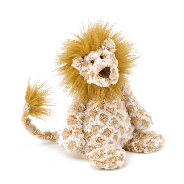 Chequer Lion Soft Toy