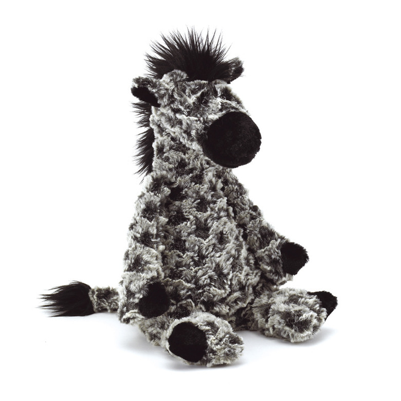 Chequer Zebra Soft Toy