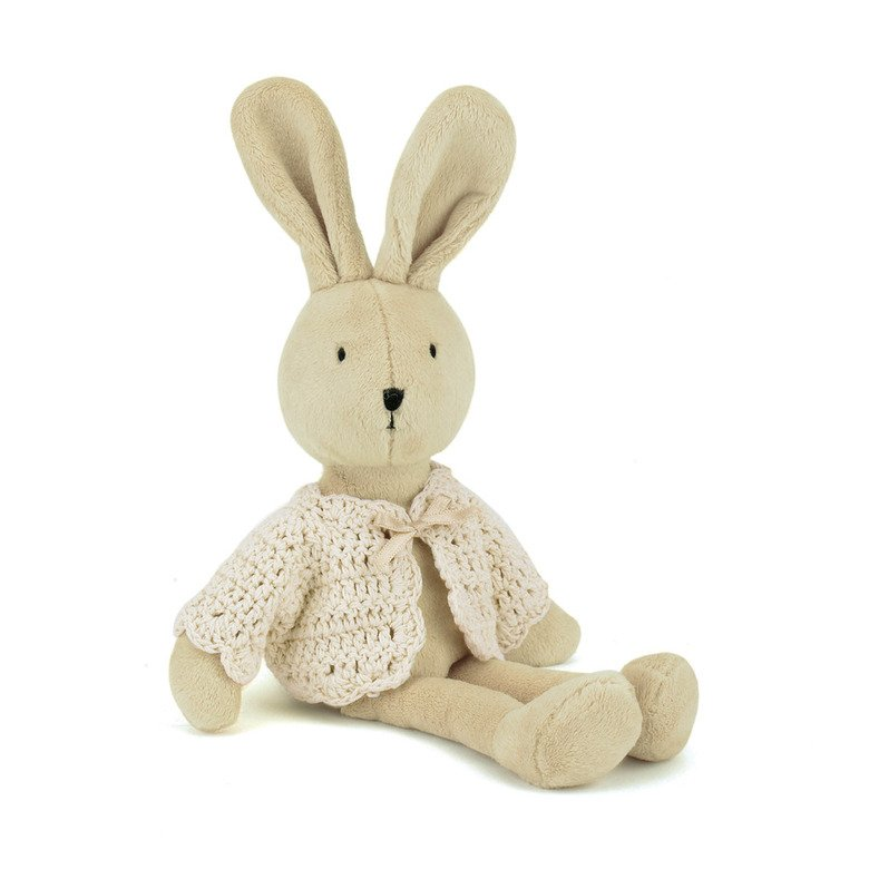 Croshetta Cream Bunny Soft Toy