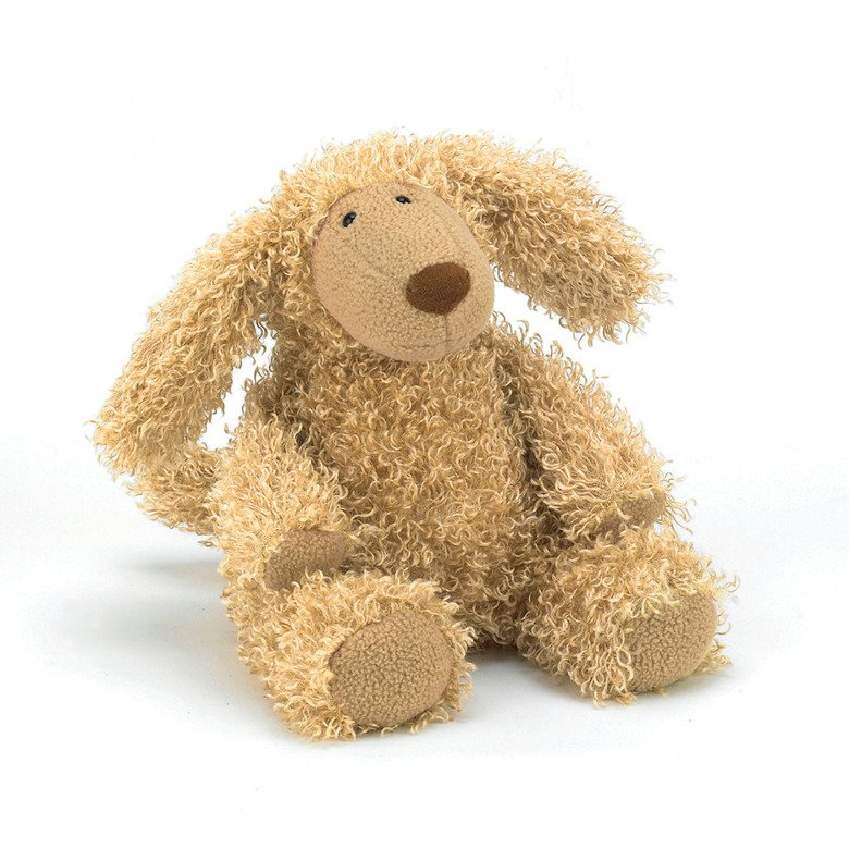 Curly Cosy Pup Soft Toy