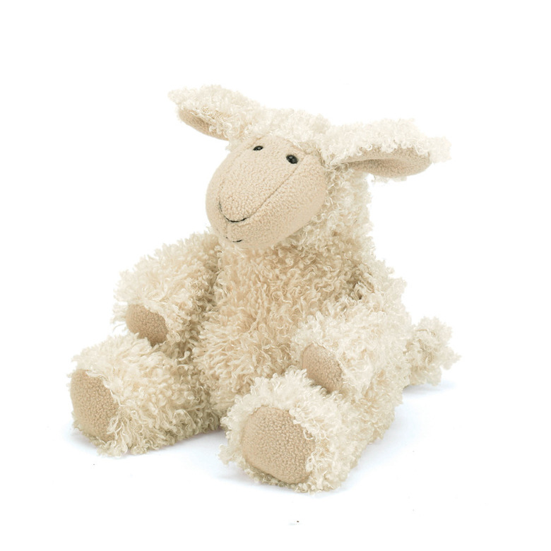 Curly Cosy Sheep Soft Toy