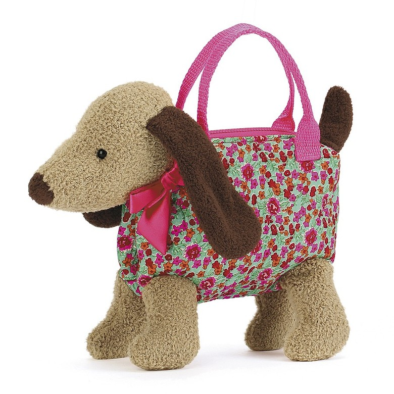 Dainty Dog Beige Bag