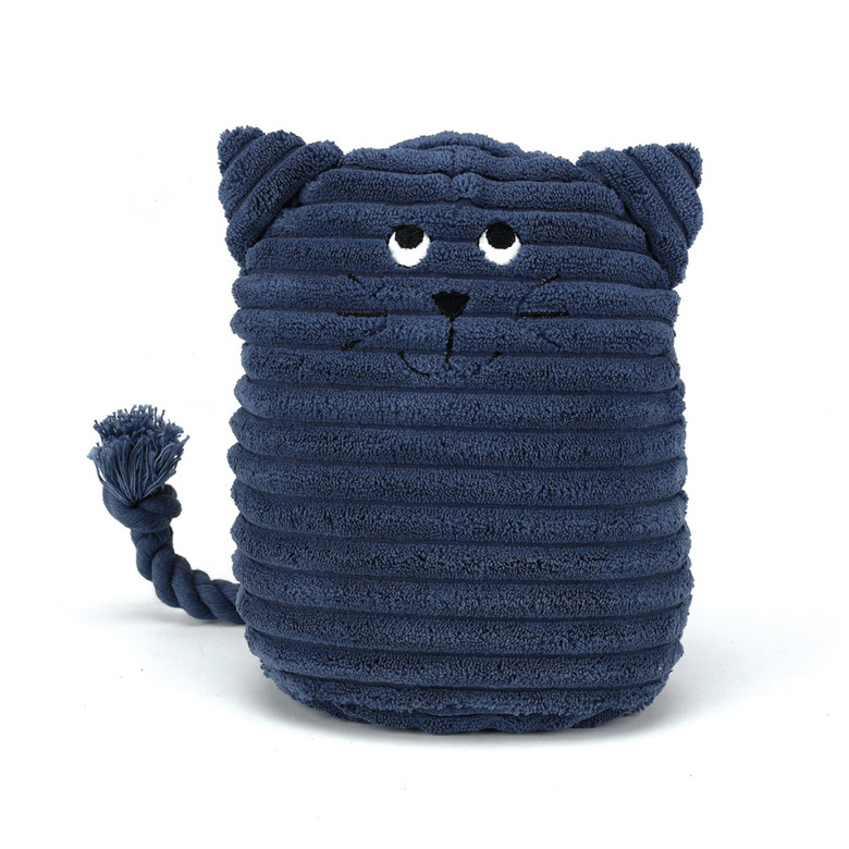 Doorstop Blue Kitty