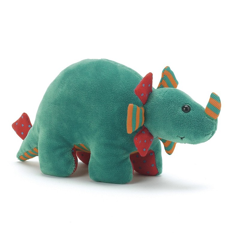 Dinky Green Dino Rattle