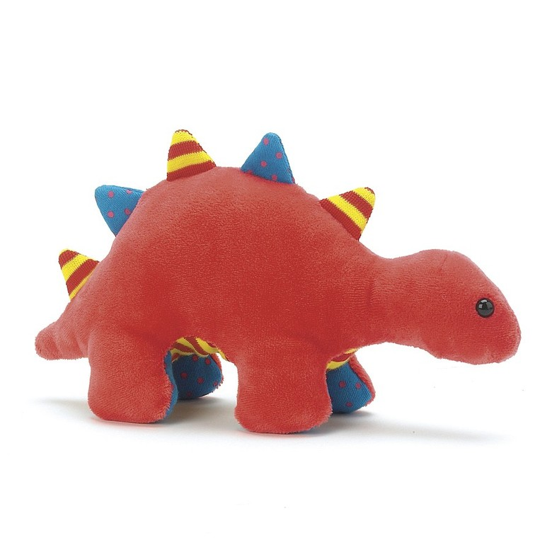 Dinky Red Dino Rattle