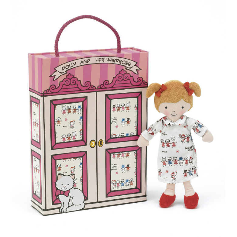Dotty Dolly's Wardrobe Soft Toy