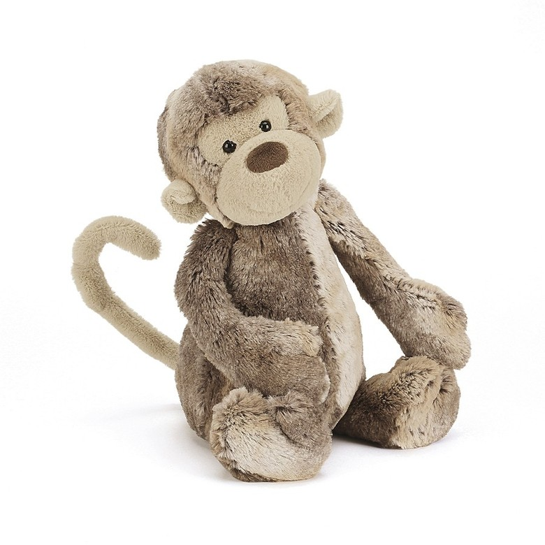 Moss Monkey Soft Toy