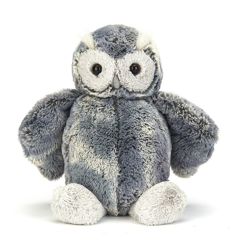 Bashful Forest Folk Oak Owl Soft Toy