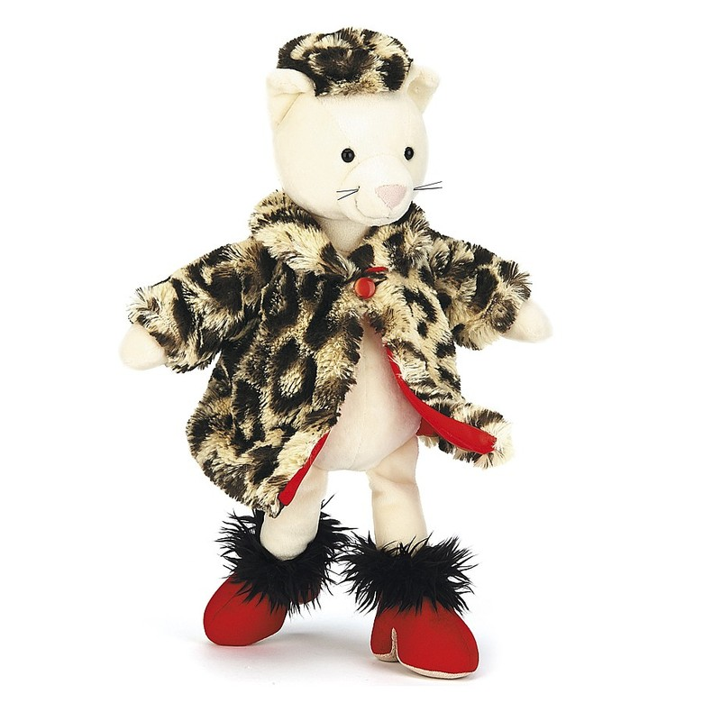 Furcoat Kitty Soft Toy