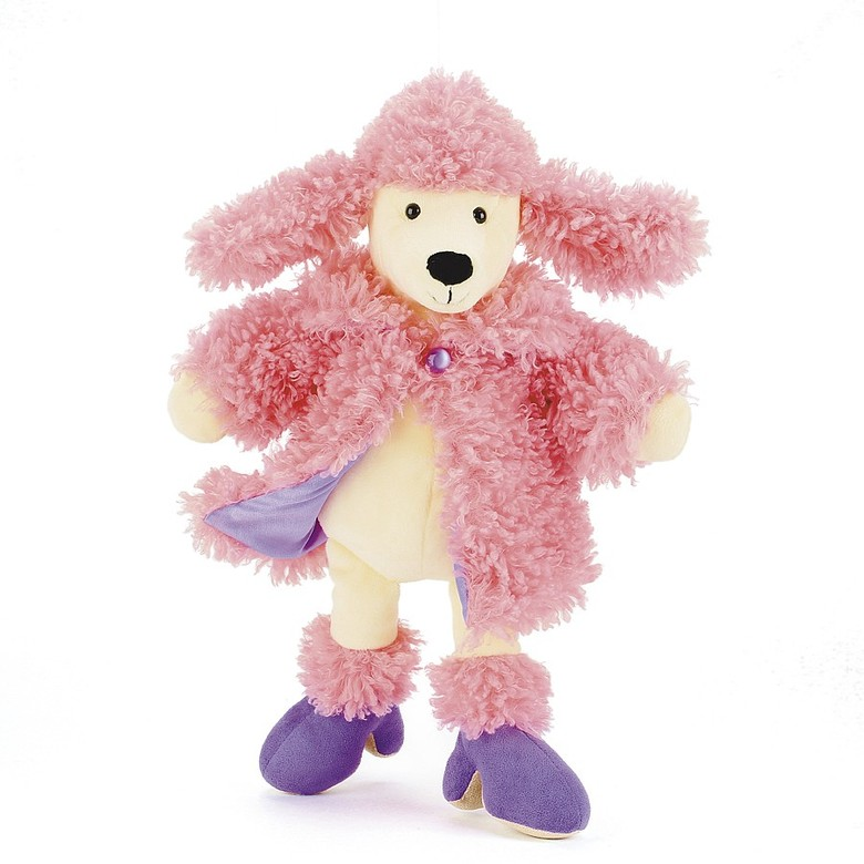 Furcoat Poodle Soft Toy