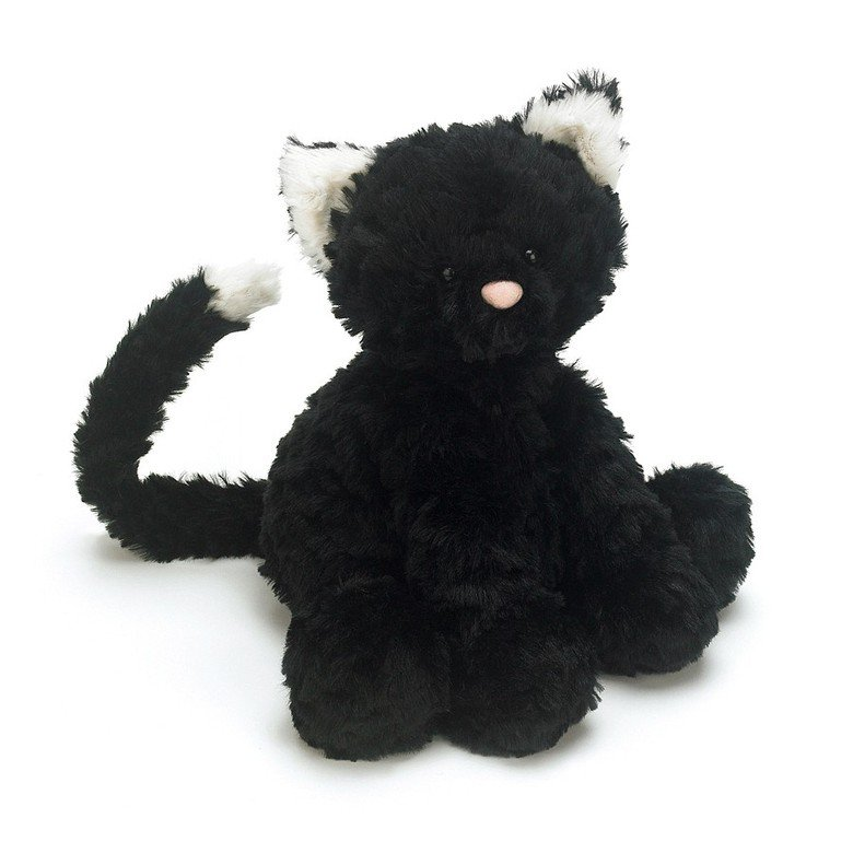 Fuddlewuddle Black Kitty Soft Toy
