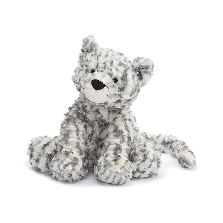 Fuddlewuddle Snow Leopard Soft Toy