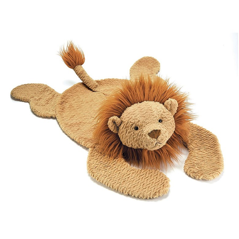 Fuddlewuddle Lying Lion Soft Toy