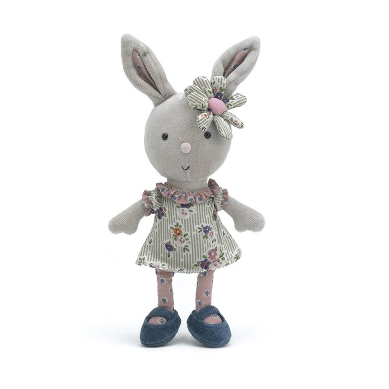 Gorgeous Girly Bunny Soft Toy
