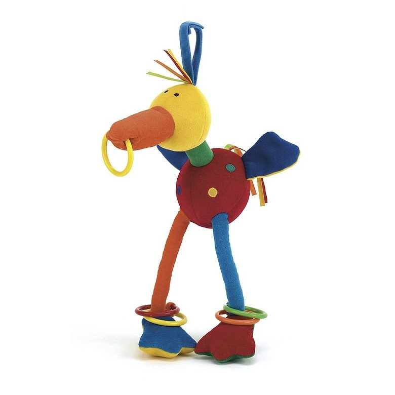 Hoopy Harlequin Bird Chime