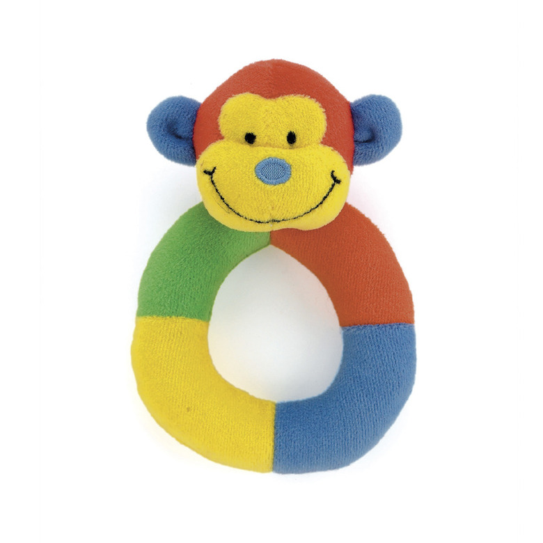 Hoopy Loopy Monkey Ring Rattle