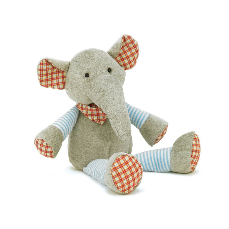 Happy Patches Elephant Soft Toy