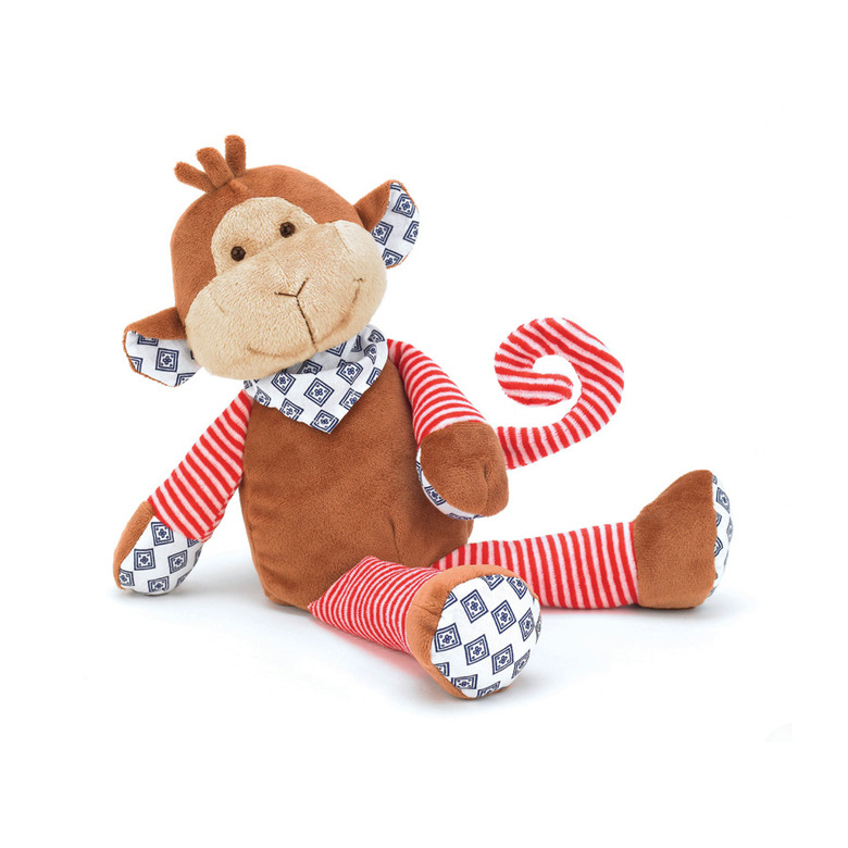 Happy Patches Monkey Soft Toy