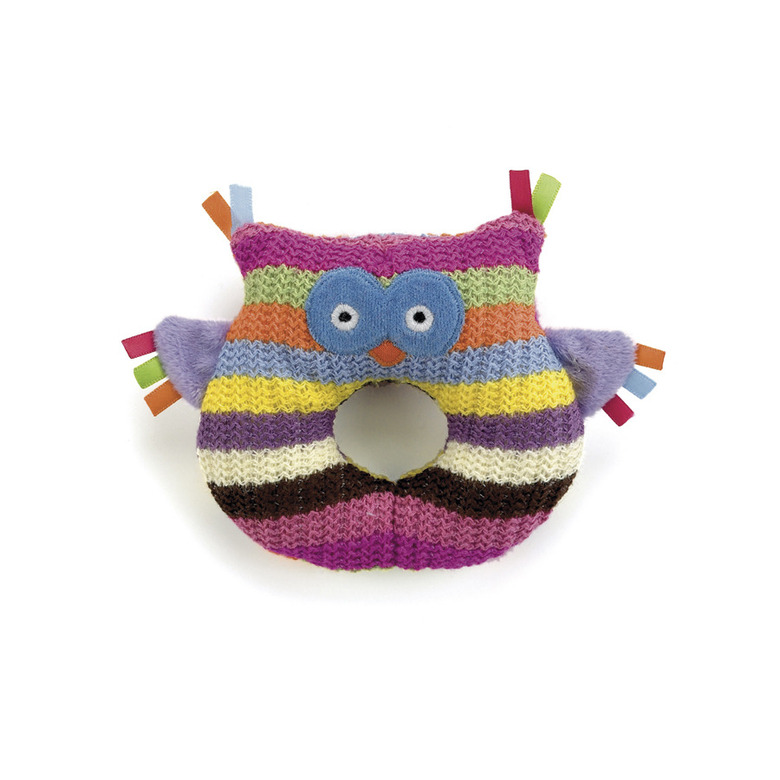 Hoot Owl Ring Rattle