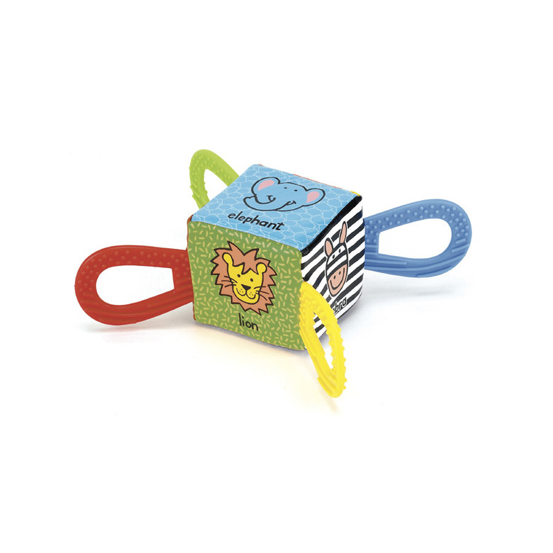 Jolly Jungle Teether Cube