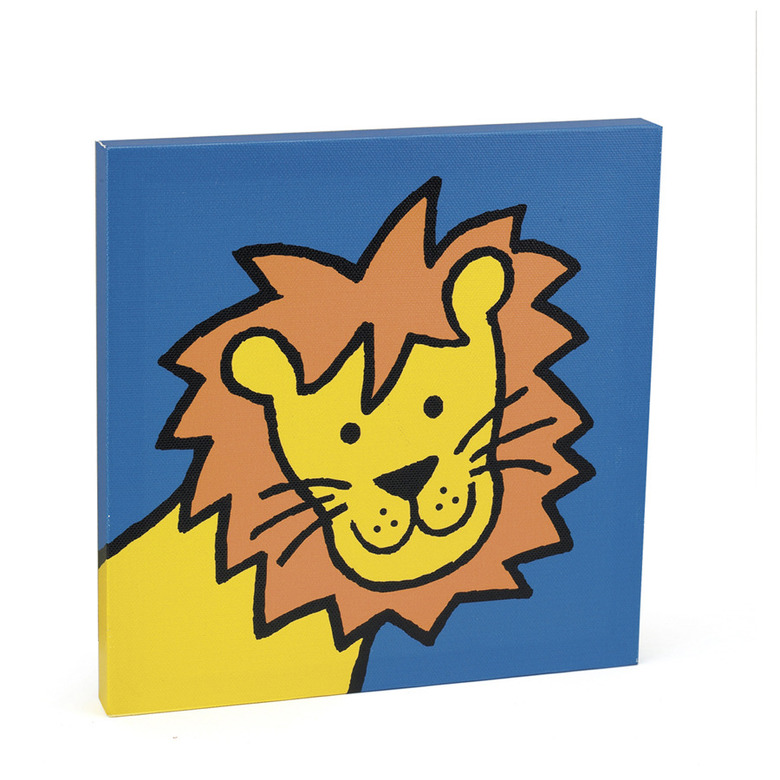 Jelly Lion Canvas Picture