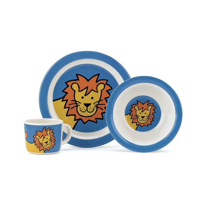 Jelly Lion Melamine Set