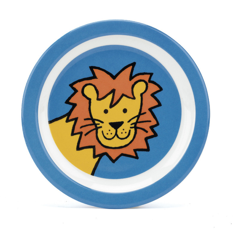 Jelly Lion Melamine Plate