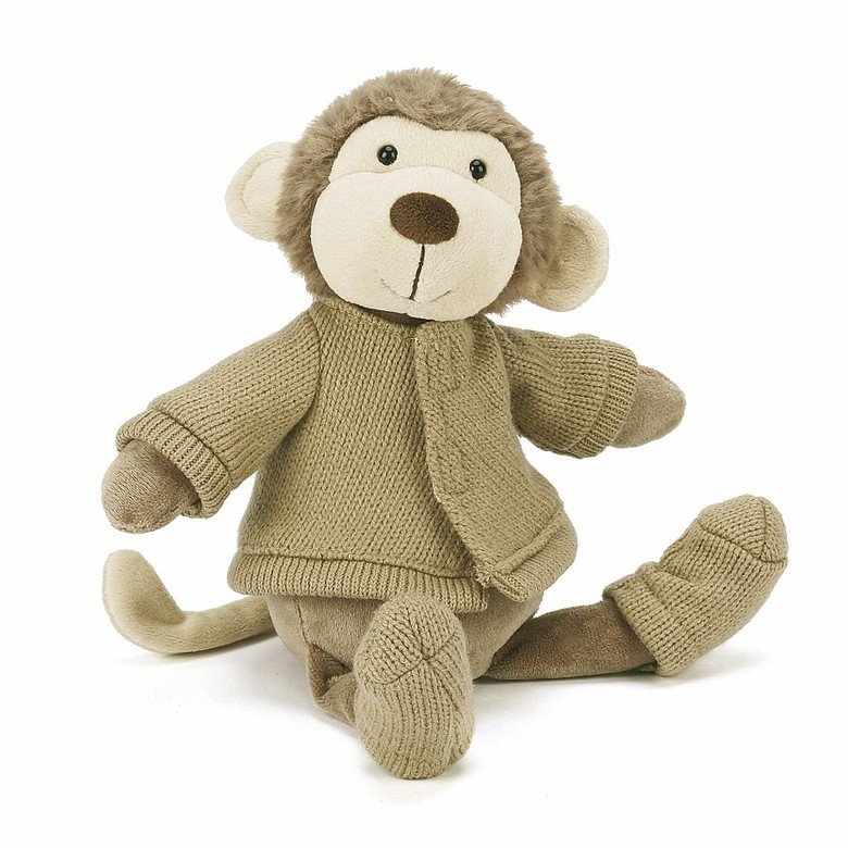 Knitnat Monkey Soft Toy