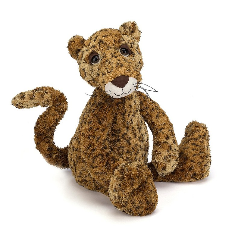 Leonard Leopard Soft Toy