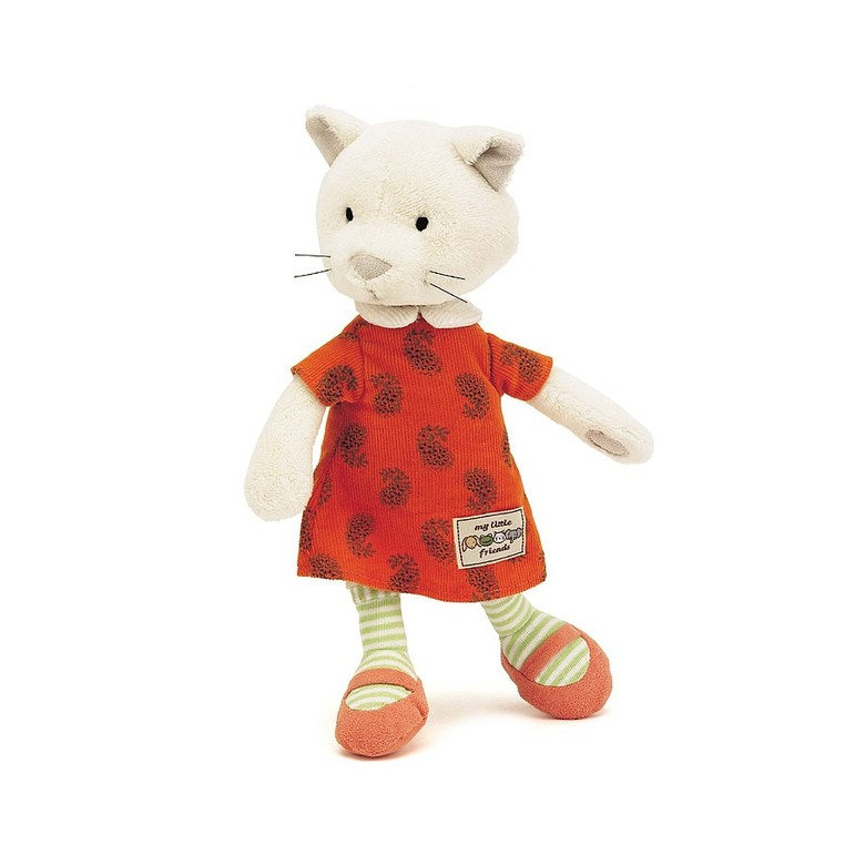 Little Friend Kitten Soft Toy