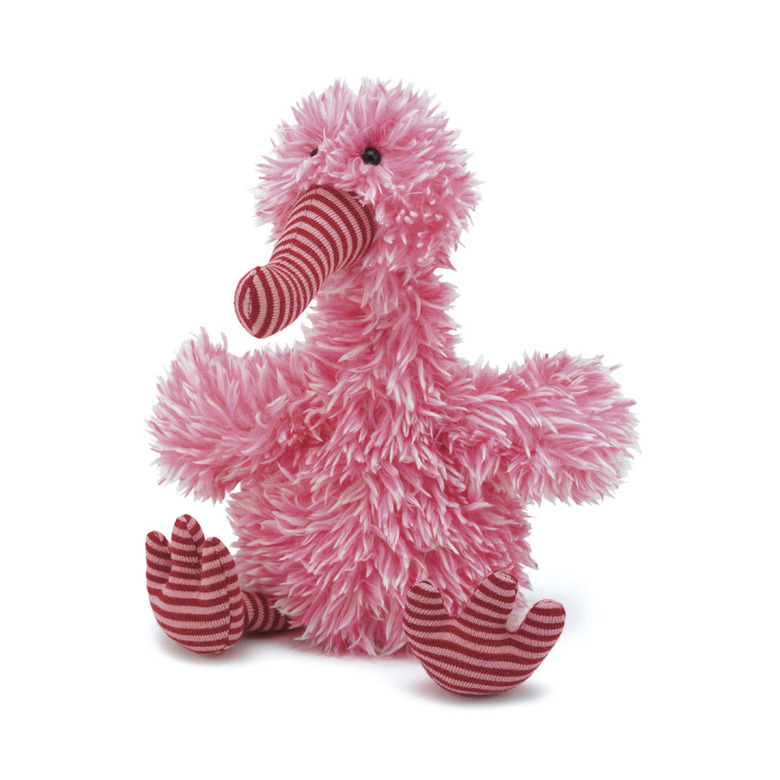 Belissima Pink Bird Soft Toy