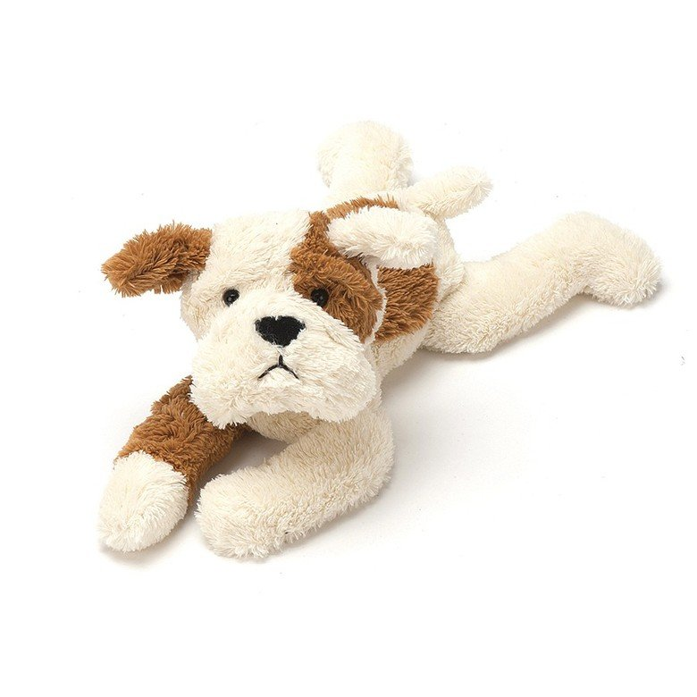 Tan and Cream Mishmash Puppy Soft Toy