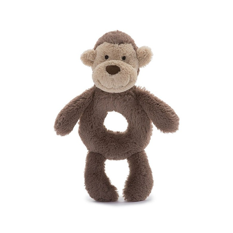 Bashful Monkey Grabber Rattle