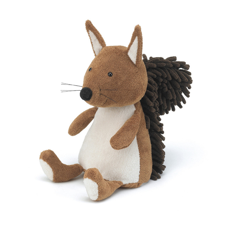 Noodle Squirrel Soft Toy