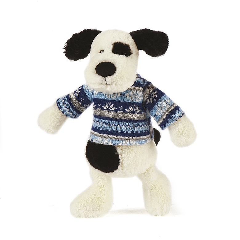 Paxton Puppy Winter Warmer Soft Toy