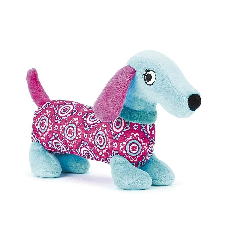 Pretty Puppy Squeaker Toy