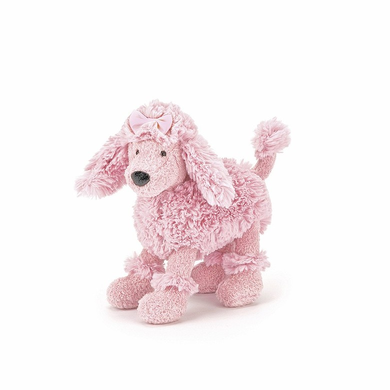 Posing Poodle Soft Toy