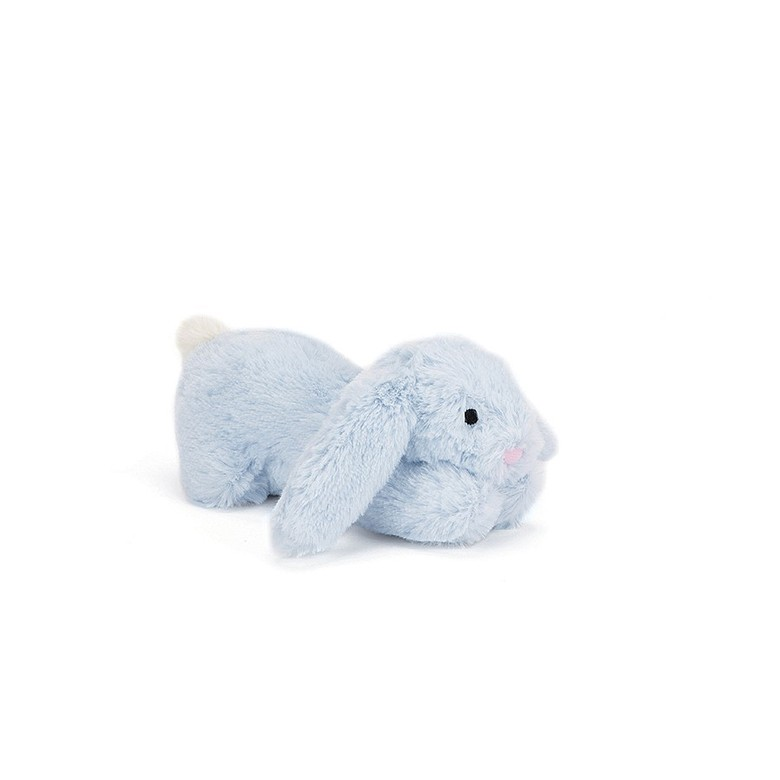 Pipsqueak Blue Bunny Squeaker Toy
