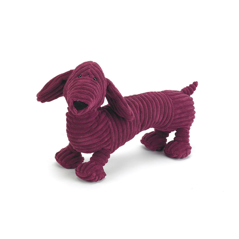 Cordy Roy Red Dachshund Soft Toy