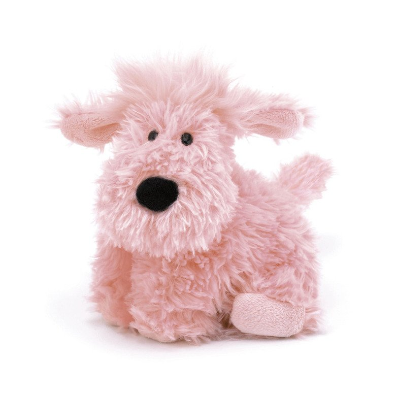 Truffles Pink Dog Soft Toy