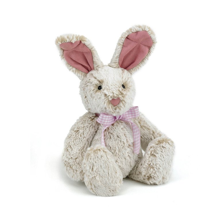 Sherbet Pink Bunny Soft Toy
