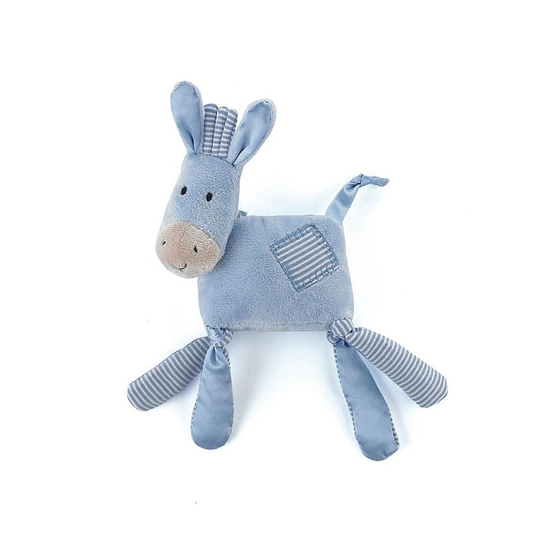 Silky Soother Donkey Rattle