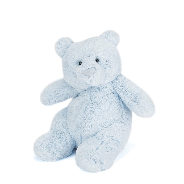 Squidgy Bear Blue Soft Toy