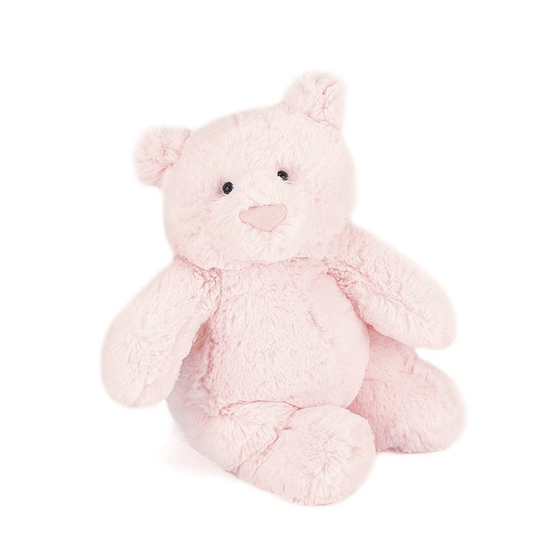 Squidgy Bear Pink Soft Toy