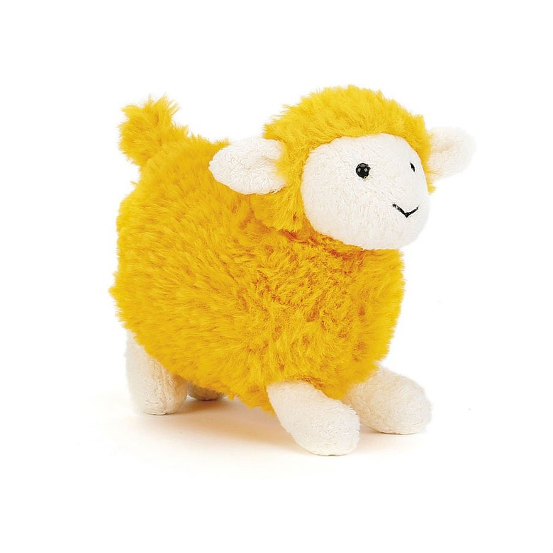 Sugar Orange Sheep Soft Toy