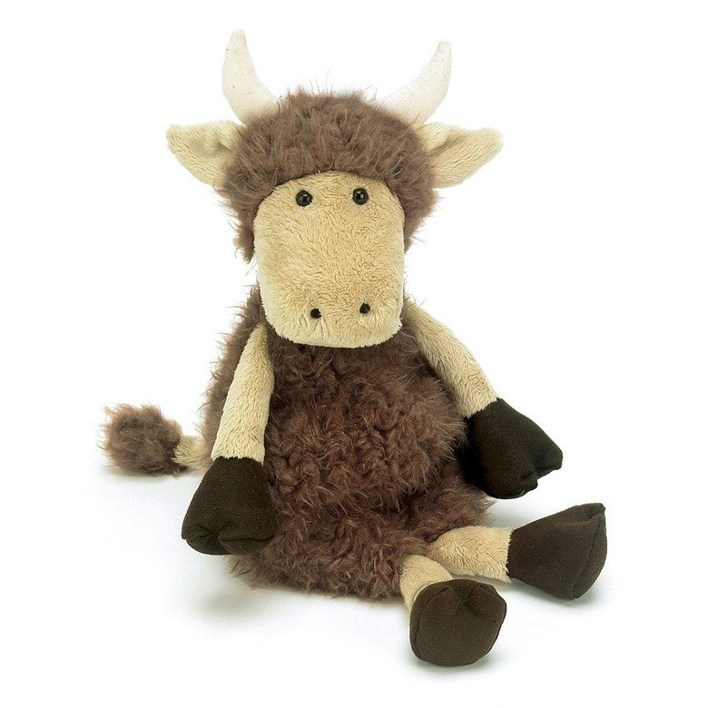 Tiggalope Highland Cow Soft Toy