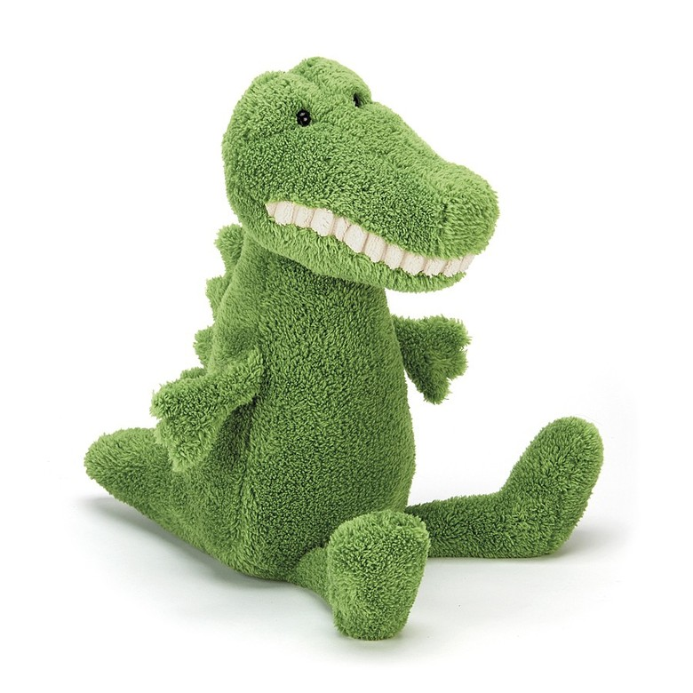 Toothy Croc Soft Toy