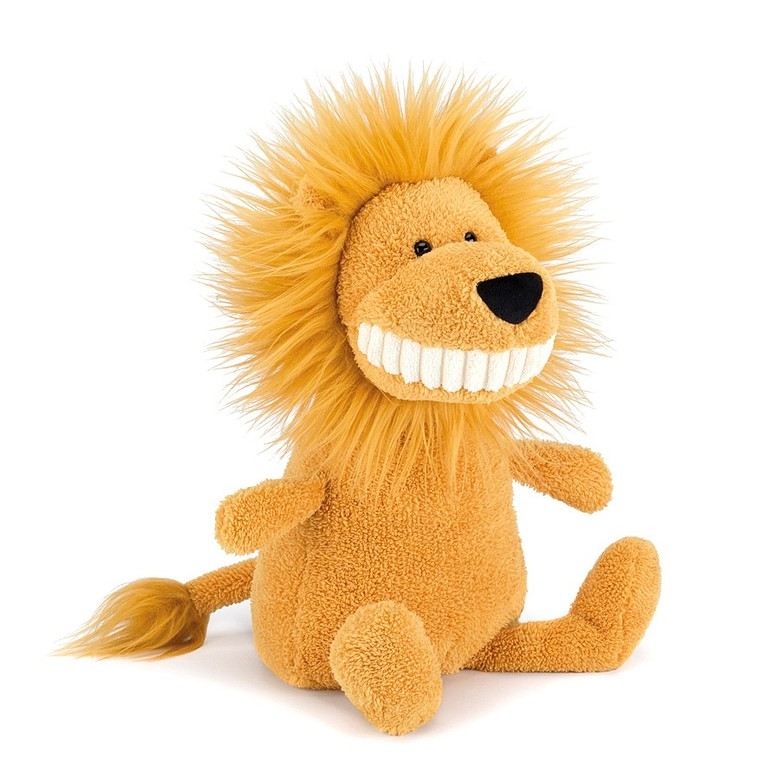 Toothy Lion Soft Toy