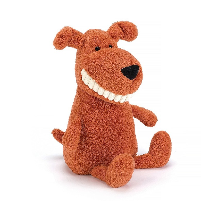 Toothy Mutt Soft Toy