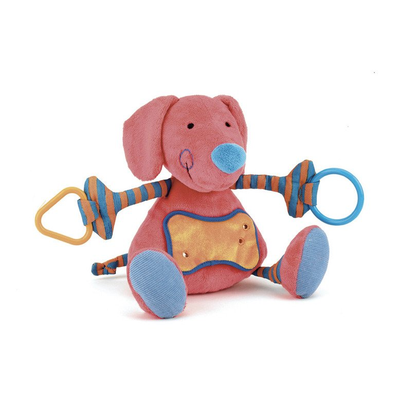 Tringle Trangle Puppy Pram Toy